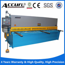 QC11y-40X2500 iron board mechanical guillotine shearing machine