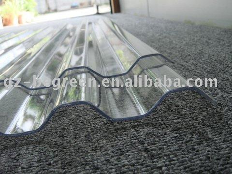 panneau de toiture en plastique transparent tuile polycarbonate ondul feuille de toiture. Black Bedroom Furniture Sets. Home Design Ideas