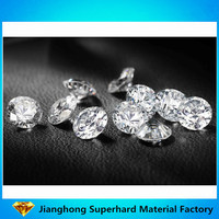 VVS White Hardness 10 Colorless Diamond Cut Polished Jewelry Stone India Russia Loose Gemstone Lab Grown CVD Synthetic Diamond