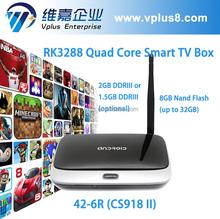 Vplus 42-6R rk 3288 cs918s ii tv box apk installer google play