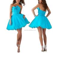 Beautiful girls simple elegant dress bowknot mini evening dress
