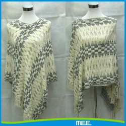 wholesale wear poncho design scarf factory china