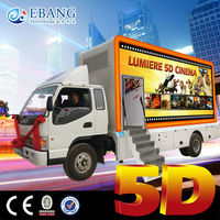 Fashionable Hydraulic Electric System truck 5d equipment in Canton Fair