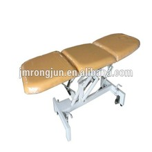 salon funiture Popular High Quality yellow Electric Facial bed/Massage table for discount