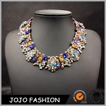 Europe and the United States popular fashion necklace resin accessories metal exaggerated women necklace