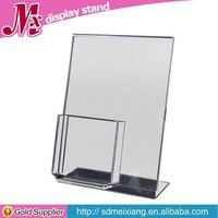 acrylic display stand rotating, MX2822 acrylic display case with black base