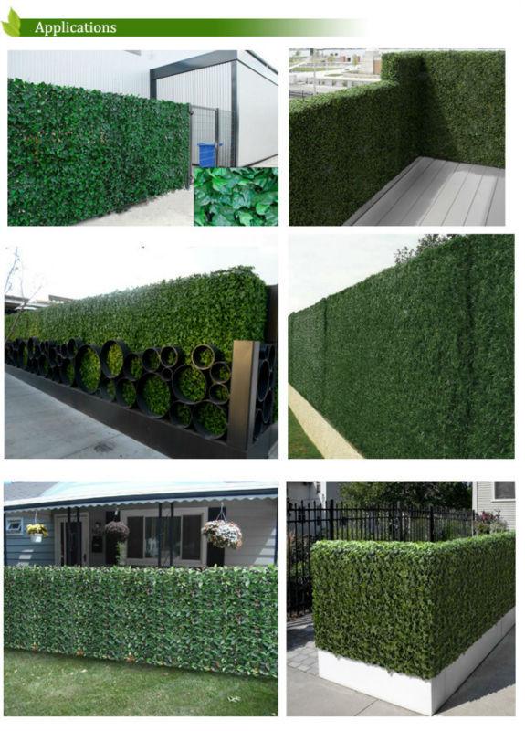 Vallado de plantas artificiales para jardiner a venta de for Jardines con plantas artificiales