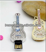 Jewel usb memory flash /diamond guitar