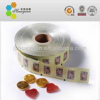 Printed Chocolate Aluminum Foil Wrap