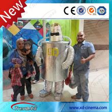 5D movie cinema ,5d 6d 7d 9d cinema theater equipment for sale with Big Hard Metal Screen