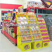 Fogos de artifício de papelão caixa POS Display Stand para a loja