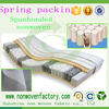 100% pp spunbond non woven fabric for matresses,spring cover fabrics