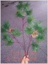 the simulation pine tree branches / fake pine branches / artificial pine leaves