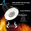 5w fire rated cob led downlight bs-476 cob downlight driver inside