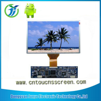 high qualified display screen TFT 8 inch LCD module 800XRGBX600 controller board RS232 touch panel