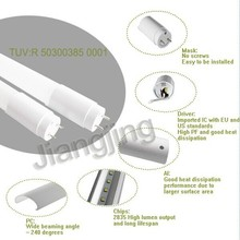 1.5m 240 degree beam angel transparent&frost SGS/ISO9001 22w UL led tube lights