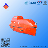 New Style Full Load 15700kg 120Persons Lifeboat Manufacturers