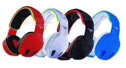 gaming bluetooth headset big earmuff sealed headset wit microphone