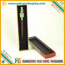 wholesale custom design cardboard pen & pencil gift box with lid