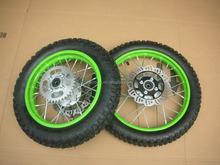 Dirt Pit Bike Off road Motorcycle QINGDA Wheels