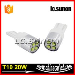 Small LED wedge bulbs T10 CAR LED
