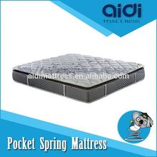 Luxury Bedroom Sets Visco Gel Memory Foam Pocket Spring Mattress From China AH-1202