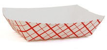 Food Grade Custom Printed Paper Food Tray
