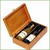 Wholesale Fancy Wood Wine Bottle Case, High Grade Wooden Wine Box