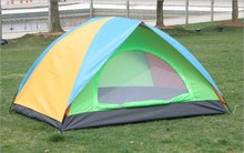 foldable 2 person tent outdoor camping tent hiking travelling pvc tent