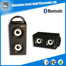 Wood tower Portable speaker bluetooth with Line in