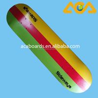 "31x7.75"" 100 Canadian Maple Wholesale Skateboard"