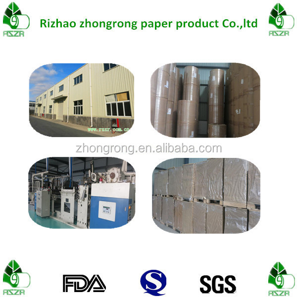 170g single side PE coated cup stock paper