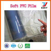Soft packaging pvc film sheet transparent pvc cover in roll for bag making