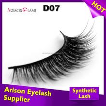Hot sale wholesale price false eyelashes red cherry eyelashes wholesale synthetic eye lashes