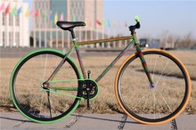 """Fixed gear steel german bicycle 26"""" fastionable racing brand"""