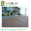 High Plasticity Skidproof Composite Wood Plastic Decking