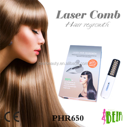 2015 latest 16 diodes hair regrow laser comb anti hair loss home use massage massage