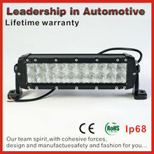Lifetime warranty LED Off Road ATV 120w LED Light Bar ATV 4x4 Jeep Offroad Truck single row 10W wholesale led light bar