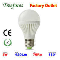 CE RoHS 5W 7W 9W E27 B22 led bulb lamps High quality Interior led lighting 3 years warranty