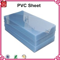 4x8 feet 0.28mm to 6.5mm transparent rigid high quality pvc sheet