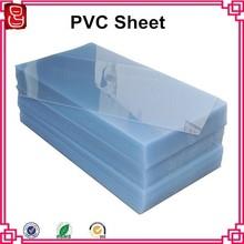 4x8 feet 0.28mm to 6.5mm transparent rigid high quality pvc sheet