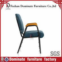 Excellent quality hot sell attachable and stackable church chair