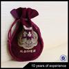Best Prices Latest Custom Design jewelry velvet drawstring gift bag wholesale