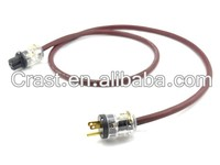 Free shipping 1.5m Reiticcse pure copper USA power cable with P-029/C-029 usa connectors