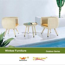 used patio furniture garden coffee table