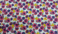 2015 latest whole sale fabric from China new style floral pattern print poplin fabric 100% cotton fabric