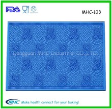 Fashion new silicone lace mat ,sugar lace mat ,cake lace mold for cake decoration