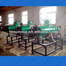 Caliente venta de animales de estiércol líquido sólido que separa la máquina/la separación líquido sólido/separador