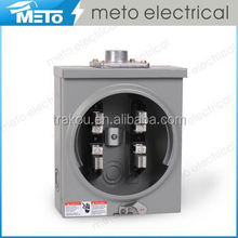 METO MT-100S-4J-R 100A square electric meter socket base without ring parts