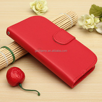 Perfect Good Quality Magnetic Wallet Flip Card Cover Stand For Samsung Galaxy Trend Plus S7580 PU Leather Case